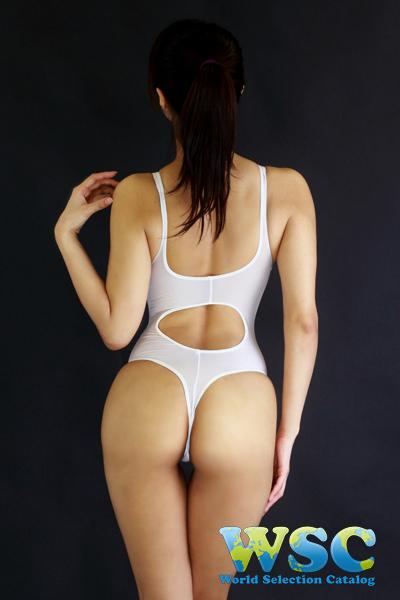 エロ下着の通販商品:Tバックプレイスーツ・白・16078・イメージ写真2