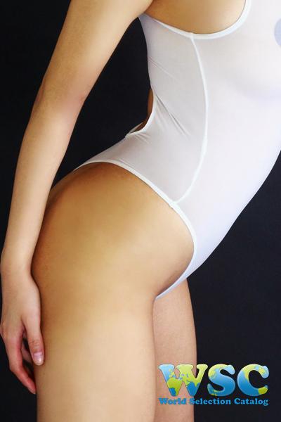 エロ下着の通販商品:Tバックプレイスーツ・白・16078・イメージ写真6