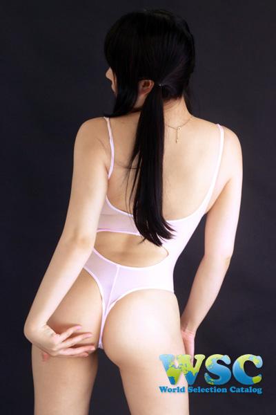 エロ下着の通販商品:Tバックプレイスーツ・ベビーピンク・16078・イメージ写真3