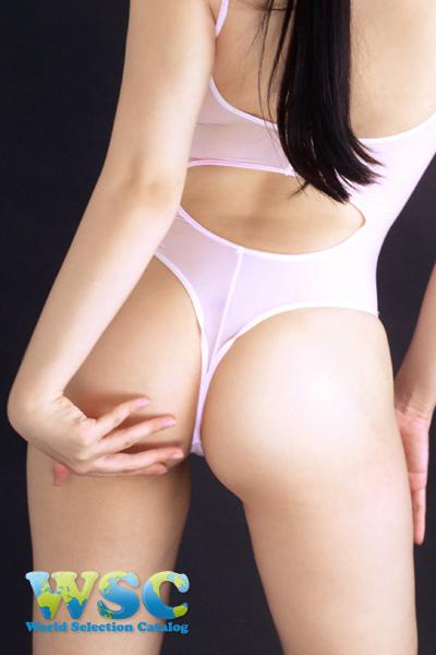 エロ下着の通販商品:Tバックプレイスーツ・ベビーピンク・16078・イメージ写真4