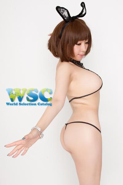 エロ下着の通販商品:極小ビキニ・TバックE2327・黒・イメージ写真3
