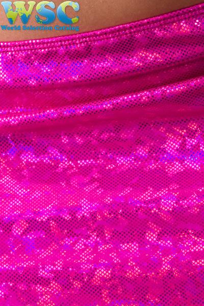 ボディコン通販の商品:ラメ入りミニスカート・ローズE2403・イメージ写真7