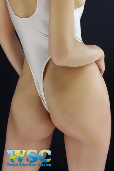 エロ下着の通販商品:ハイレグレオタード・Tバックtype・ベージュ・92907・イメージ写真3