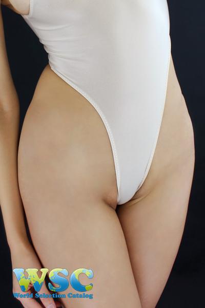 エロ下着の通販商品:ハイレグレオタード・Tバックtype・ベージュ・92907・イメージ写真4