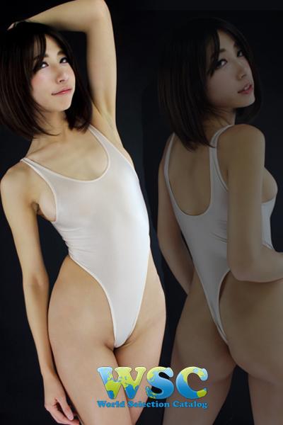 エロ下着の通販商品:ハイレグレオタード・Tバックtype・ベージュ・92907・イメージ写真8