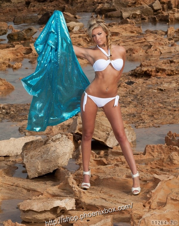エロ下着の通販商品:セクシービキニE4351・白・イメージ写真1