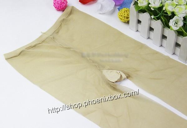 エロ下着の通販商品:15デニールのパンスト・ベージュ261432・着用写真6