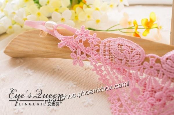 エロ下着の通販商品:パール付極薄TバックE2051・ピンク・イメージ写真5