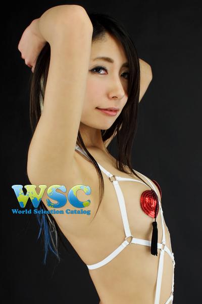 エロ下着の通販商品:亀甲縛り風SMボンデージ・白48903・イメージ写真5