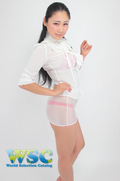 エロ下着の通販商品:透け透明ミニスカート・白52339・イメージ写真0