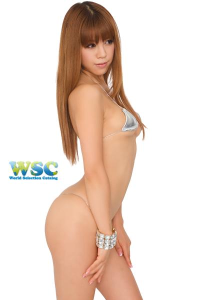 エロ下着の通販商品:マイクロミニ・ビキニ【極細ヒモ】・E900・シルバー・イメージ写真2