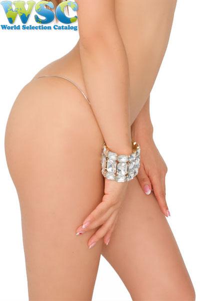 エロ下着の通販商品:マイクロミニ・ビキニ【極細ヒモ】・E900・シルバー・イメージ写真4