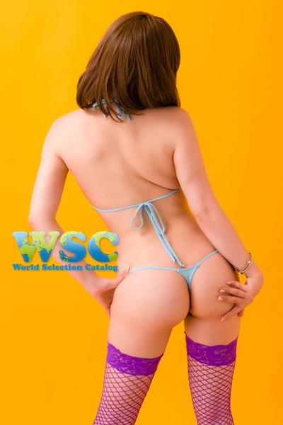 エロ下着の通販商品:スーパーマイクロビキニ・ライトブルー・イメージ写真3