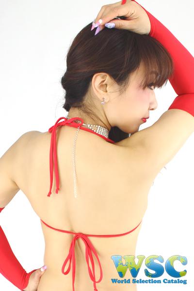 エロ下着の通販商品:スーパーマイクロビキニ・赤・イメージ写真5