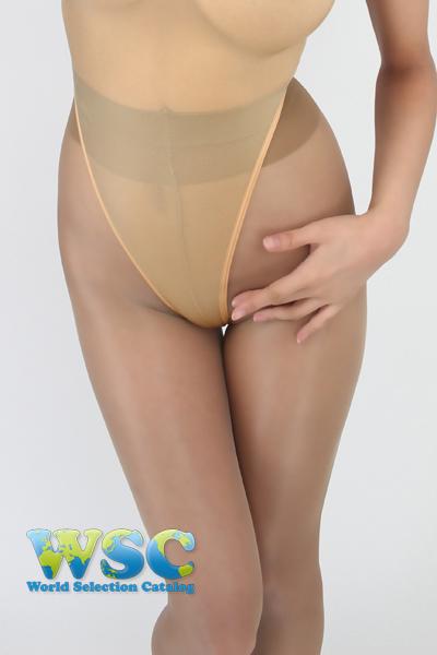 エロ下着の通販商品:ハイレグ・Tバック・レオタードRH05T・ベージュ・イメージ写真7