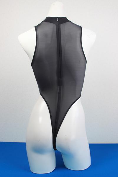 エロ下着の通販商品:ハイレグ・Tバック・レオタードRH05T・黒・イメージ写真2
