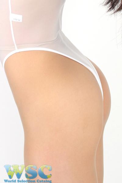 エロ下着の通販商品:ハイレグ・Tバック・レオタードRH05T・白・イメージ写真8