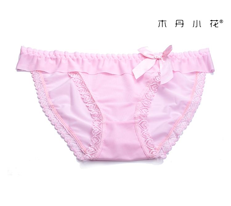 エロ下着の通販商品:フルバックショーツ・薄ピンク・M6003・イメージ写真5