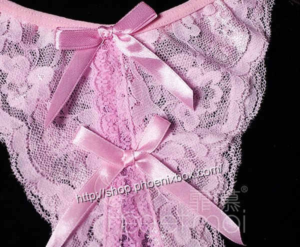エロ下着の通販商品:セクシーな股開きショーツ・yxf7125・ピンク・イメージ写真3