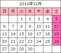 エロ下着ボディコン激安通販11月カレンダー